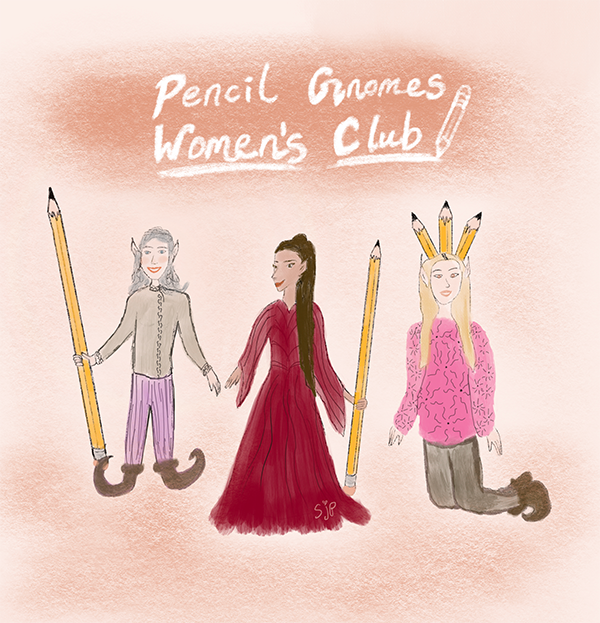 Pencil Gnome Women's Club