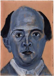 Blaues Selbstportrait